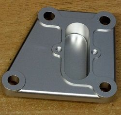 Rear End-plate for Cylinder Head