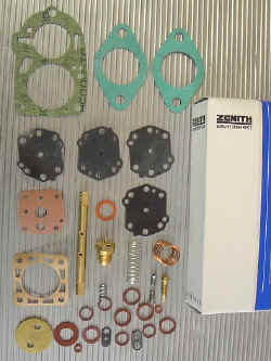 Rebuild kit for Solex 32PBI-2 Carburettor