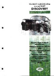 discovery series 1 1989 to 1999 rh dingocroft co uk Land Rover Discovery Sport land rover discovery 1 electrical troubleshooting manual