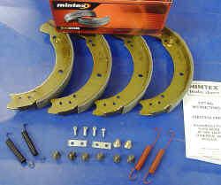 Axle Set of Brake Shoes - 10